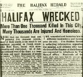 halifax explosion - news