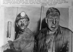springhill mine - miners