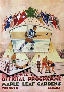 conn smythe - maple leaf poster