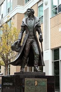alexander wood - statue