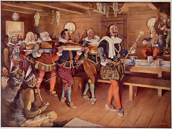 """The Order of Good Cheer,"" was a French Colonial Order founded by Samuel de Champlain"