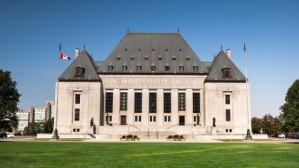 Supreme Court of Canada, Ottawa, Ontario.