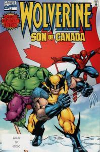 canadian super heroes - wolverine