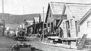 Barkerville, British Columbia. Main Street during its heyday.