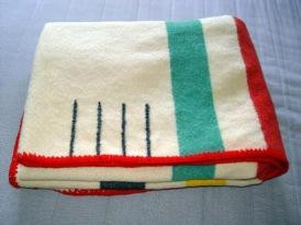 point blanket - folded