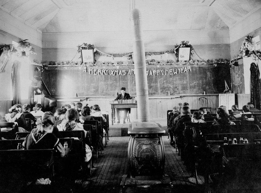 One Room School House Rules For Students