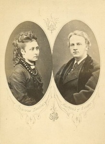 The Marquess of Lorne and Princess Louise.
