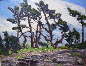 """Pine Island"" by Group of Seven artist, Tom Thompson"