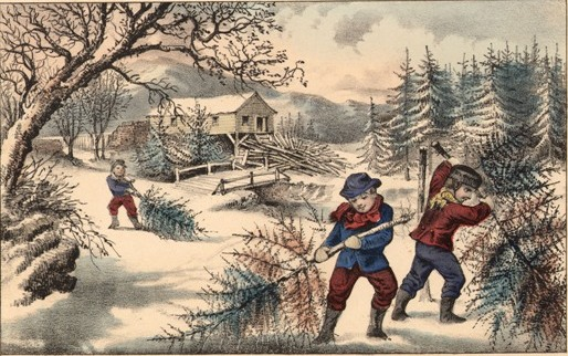 Pioneer Christmases… | In Praise of Canadian History