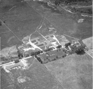 camp x - aerial