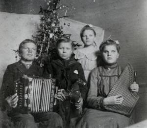 Music has always been part of Christmas, and in pioneer times you made your own.