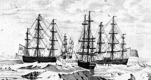 ships arriving in james bay
